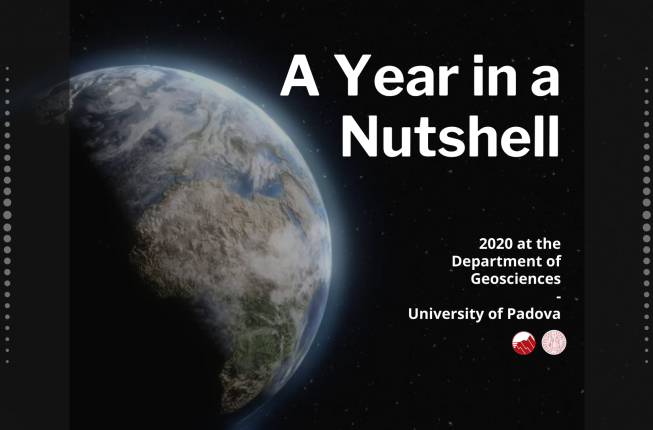 Collegamento a A Year in a Nutshell - 2020 at the Department of Geosciences