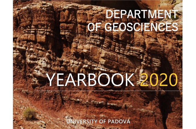 Collegamento a Yearbook 2020: the second edition of the yearbook of the Department of Geosciences is now online