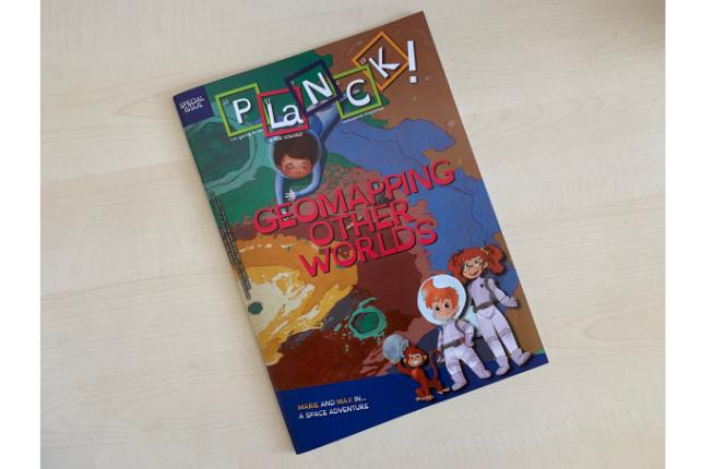 """Collegamento a """"Geomapping other worlds"""", un numero speciale della rivista PLaNCK! dedicato alla cartografia geologica planetaria"""